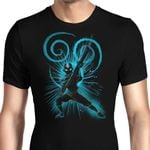 The Air Bender Graphic Arts T Shirt