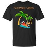 Corgi - Summer Vibes T Shirts bestfunnystore.com T Shirt