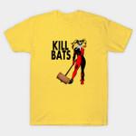 Kill Bats T-Shirt Batman villain DC Comics Harley Quinn Killl Bill Parody Supervillain T Shirt
