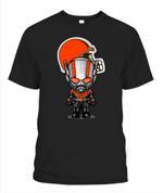 Anti Man chibi Browns NFL Cleveland Browns T Shirt
