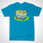 SNORKELS IN TROUBLE T-Shirt Cartoon fish tank Snorks TV T Shirt