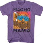 Macho Mania Randy Savage Shirt WWE T-SHIRTS T Shirt