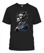 Xmen Logan Tigers MLB Detroit Tigers T Shirt
