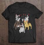 French Bulldog Friends dog French Bulldog Friends T Shirt