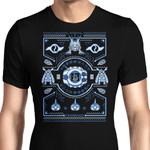 Digital Friendship Sweater Graphic Arts T Shirt