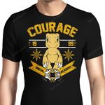 Courage Academy Graphic Arts T Shirt