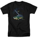 Flashlight Jurassic Park T-shirt JAWS T-SHIRTS T Shirt