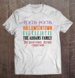 Hocus Pocus Halloweentown Beetlejuice The Addams Family The Nightmare Before Christmas Addams Family Beetlejuice Halloweentown Hocus Pocus Nightmare