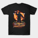 Retro Haddonfield Shape T-Shirt Halloween Horror Michael Myers movie T Shirt