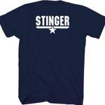 Stinger Top Gun T-Shirt 80s Movie T Shirt