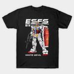 gundam T-Shirt Anime Gundam Manga T Shirt