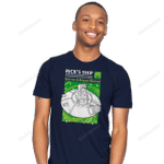 Powered by Microverse Rick And Morty T-Shirt movie RICK AND MORTY T SHIRT T Shirt