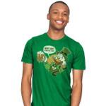 HAPPY SCROOGE DAY T-Shirt beer Cartoon Disney DuckTales Saint Patrick's Day Scrooge McDuck TV T Shirt