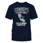 Dallas Cowboys - Cowboys Territory - California Chapter NFL Dallas Cowboys 2 T Shirt