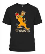 Scooby-Doo Saints NFL New Orleans Saints T Shirt
