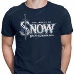 Breath of the Wildlings T-Shirt Game of Thrones Jon Snow Legend of Zelda Parody TV T Shirt