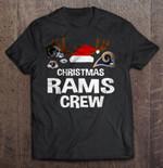 Christmas Rams Crew Football T Shirt