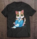 Baby Cat With Yarn Cat T Shirt