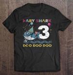 Baby Shark Doo Doo Doo 3rd Birthday Birthday T Shirt
