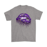 Biting Glossy Lips Sexy Baltimore Ravens NFL Football Shirts Baltimore Ravens football NFL T Shirt