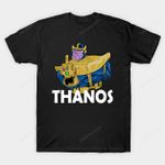 Thanos Cash T-Shirt Infinity Gauntlet Marvel Comics Supervillain Thanos T Shirt
