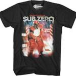 Sub Zero Running Man T-Shirt 80s Movie T Shirt