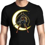 Wonder Moon Graphic Arts T Shirt