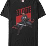 Blade T-Shirt MARVEL COMICS SHIRTS movie T Shirt