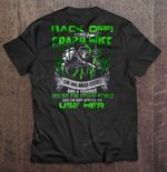 Back Off I Have A Crazy Wife She Has Anger Issues And A Serious Dislike For Stupid People Grim Reaper Version Wife T Shirt