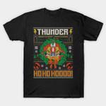 HO HO HOOO COD HOLIDAY SWEATER T-Shirt Cartoon Parody Thundercats TV ugly Christmas sweater T Shirt