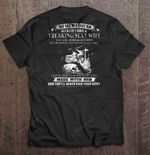 They Call Me A Lucky Man Because I Have A Freaking Sexy Wife She Was Born In October Tattooed Wife Version Wife T Shirt