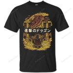 Attack on Dragon T-Shirt movie T Shirt