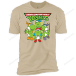 Teenage Mutant Ninja Yoshis T-Shirt 2018T08 T Shirt