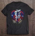 Jack And Sally Santa Christmas NIGHT BEFORE CHRISTMAS T Shirt