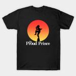 The Proud Prince T-Shirt Anime Dragon Ball Dragon Ball Z Manga Parody The Karate Kid Vegeta T Shirt