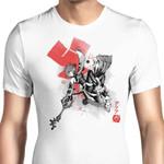 Keyblade Master Sumi-e Graphic Arts T Shirt