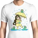 Best Frog Girl Graphic Arts T Shirt