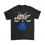 Bud Light: Dilly Dilly! Edmonton Oilers Neon Light Shirts Edmonton Oilers NHL Oilers T Shirt