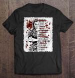 Arya Stark's Kill List Version Arya Stark blood Cersei Game of Thrones Joffrey Kill List Polliver The Hound T Shirt