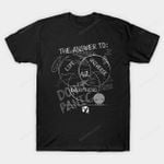 Diagram of Everything T-Shirt movie The Hitchhiker's Guide to the Galaxy Venn diagram T Shirt