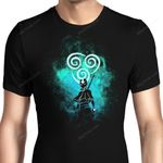 Air Bender Art Graphic Arts T Shirt