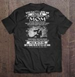 You Can't Scare Me I Have A Freakin' Awesome Mom She Was Born In January Anger issues awesome mom Crazy Mom January MOM Punch Face T Shirt