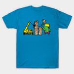 Part Time Job - Construction T-Shirt Hulk Marvel Comics Parody Part Time Job Superhero T Shirt