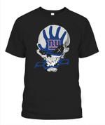 Skull sketchy Giants NFL New York Giants T Shirt