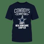 Cowboys - New Hampshire Territory NFL Dallas Cowboys 2 T Shirt