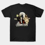 Monsters T-Shirt Dracula Frankenstein Horror Mashup movie mummy The Mummy The Wolfman vampire werewolf T Shirt