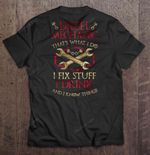 Diesel Mechanic That's What I Do I Fix Stuff I Drink And I Know Things GAME OF THRONES T Shirt