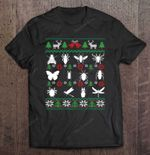 Bug Collector Entomology Christmas BEST SELLING CHRISTMAS T Shirt