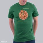 Turtles Love Pizza T-Shirt pie chart pizza Teenage Mutant Ninja Turtles TMNT T Shirt