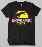 Grimlock T-Shirt Cartoon Grimlock Jurassic Park Mashup Parody Transformers TV T Shirt